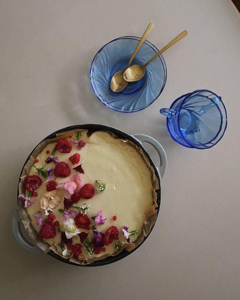 Opskrift på frisk cheesecake