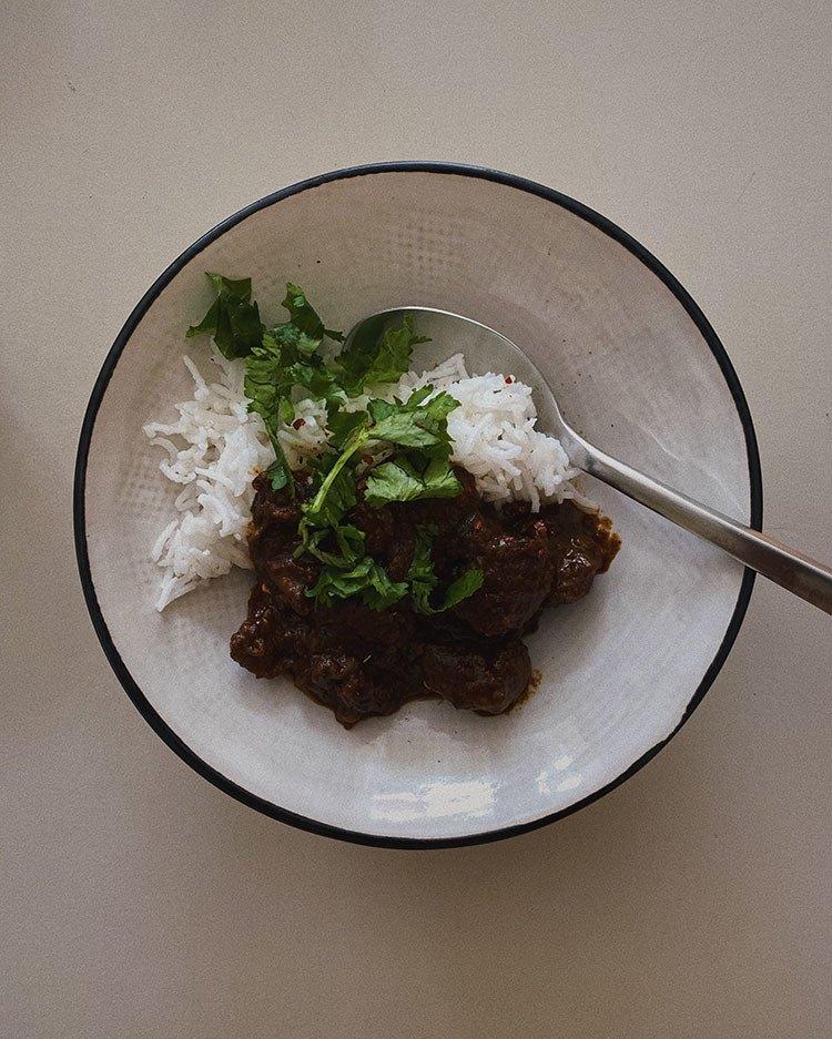 Indisk curry med garam masala