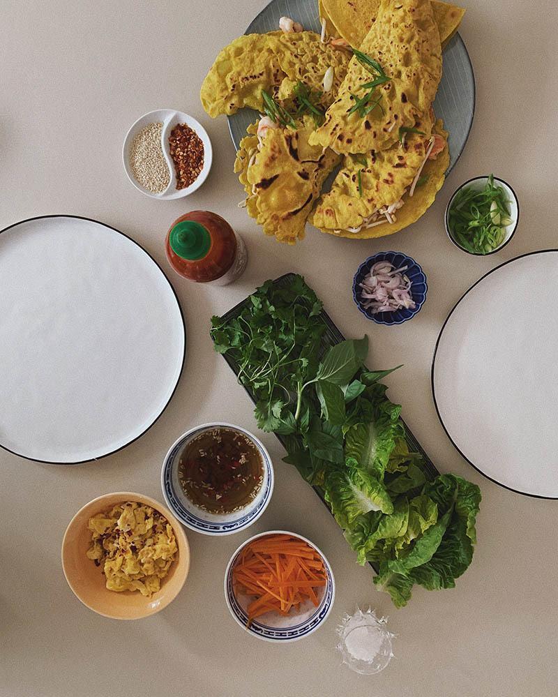 Opskrift på vietnamesisk pandekage