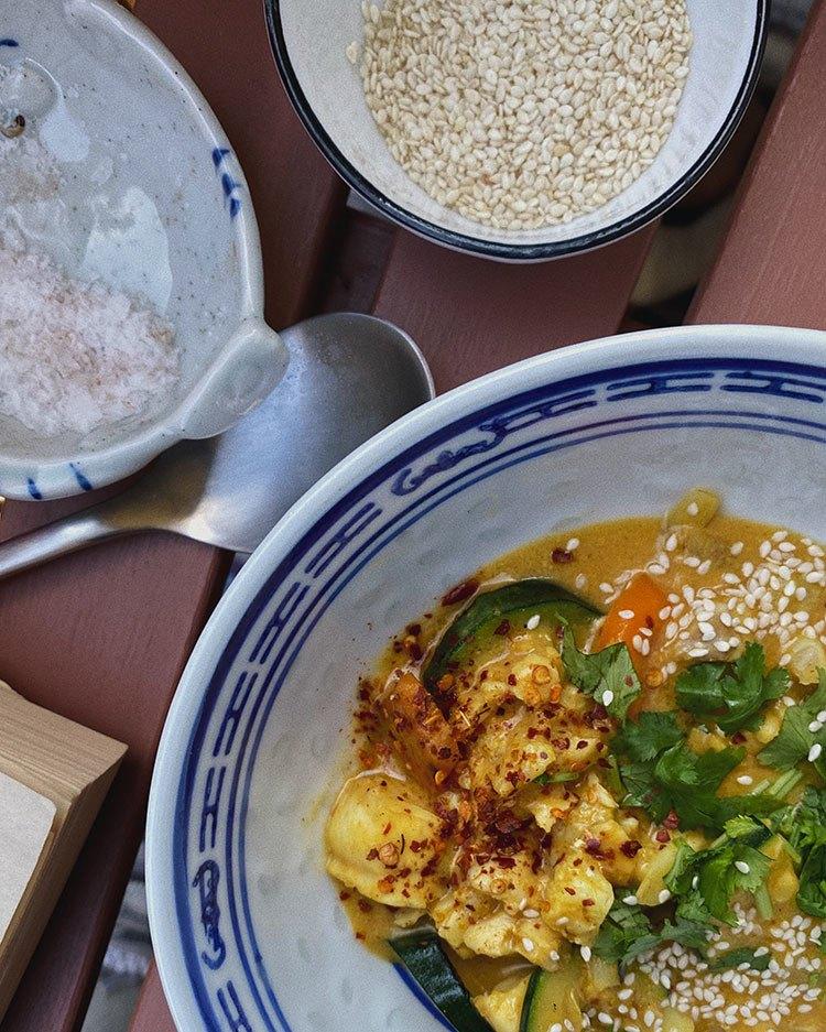 Opskrift på lyn-wok