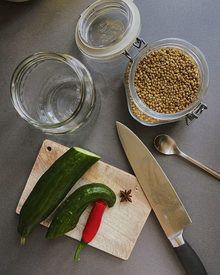 Opskrift på nemme syltede agurker