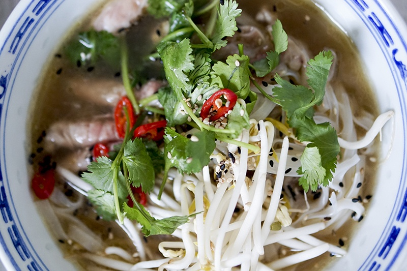 Opskrift på vietnamesisk pho suppe (ægte asian vibes i køkkenet) 6