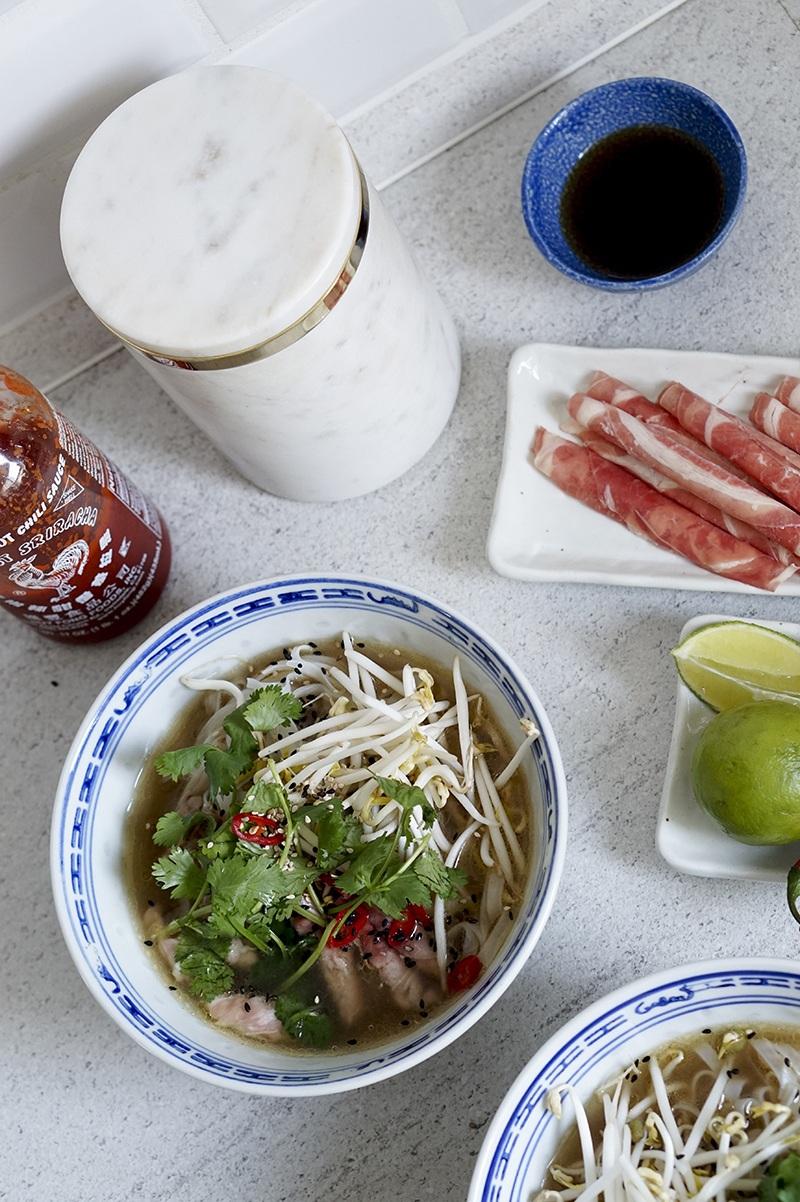 Opskrift på vietnamesisk pho suppe (ægte asian vibes i køkkenet) 4